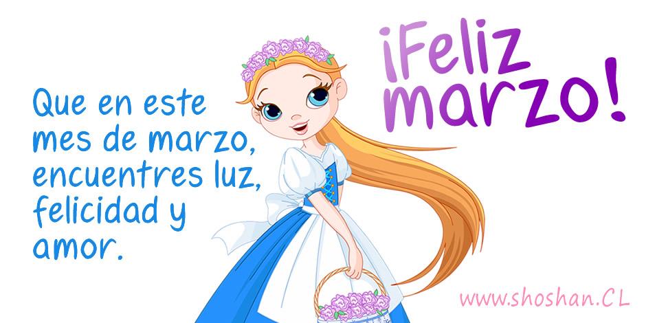 """BIENVENIDO """"MARZO"""" Marzo"""