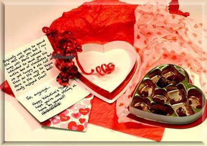 cartas de san valentin. Carta de San Valentín |