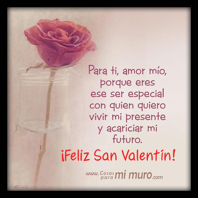 Estas letras son para ti, ¡feliz San Valentín!