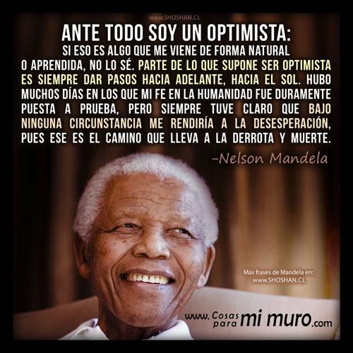 Frases De Reflexión De Nelson Mandela