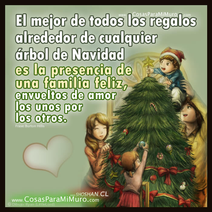 La navidad y la familia - Navidad en familia frases ...