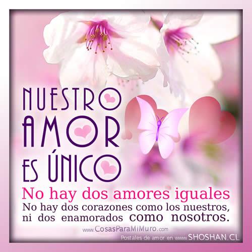 No hay dos amores iguales ♥ ( TE AMO )