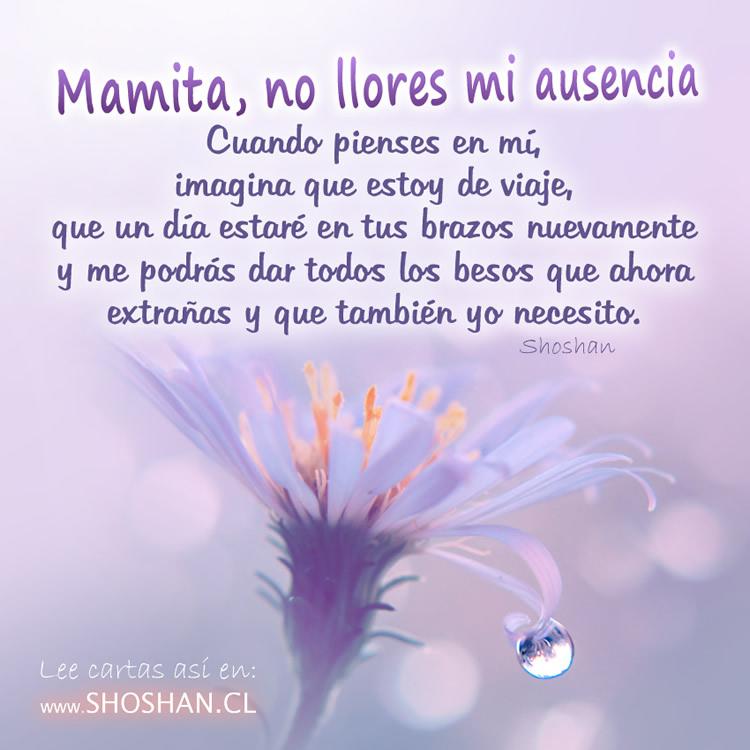 Mamita No Llores Mi Ausencia