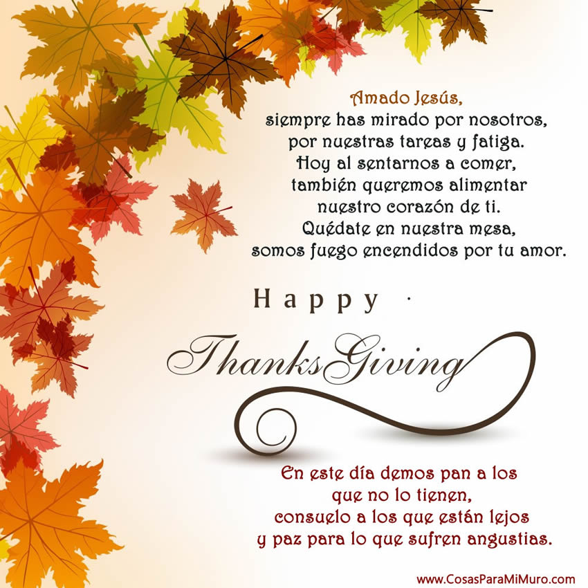 Video Postal Acerca De La Historia De Thanksgiving