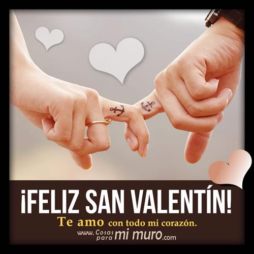 Imagen de feliz San Valentín para mi amor